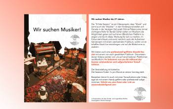 Musikevent flyer design