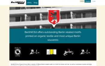 Website screenshot of Berliniced.com